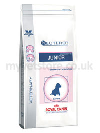 Royal Canin Vet Care Nutrition Canine Neutered Junior